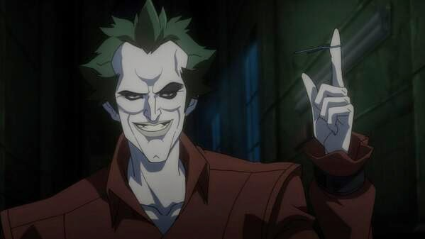 The Joker Featured In First Image From BATMAN: ASSAULT ON ARKHAM Animated Feature