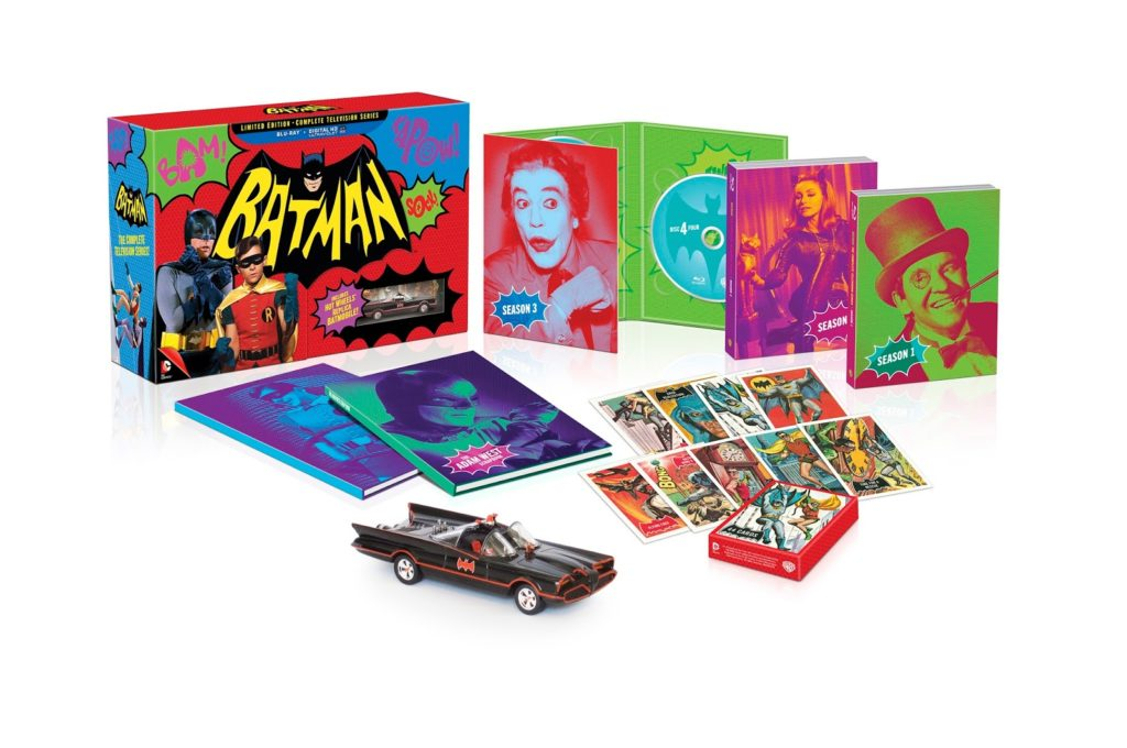 Full Details For BATMAN: THE COMPLETE TELEVISION SERIES Blu-Ray Collection Announced
