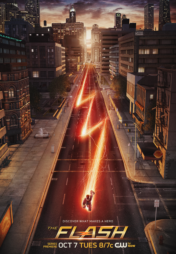 Easter-Egg Filled Poster For The CW's THE FLASH Released