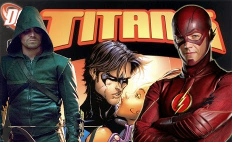 CW President Doesn't Rule Out TNT's TITANS Existing In The ARROW And FLASH Universe