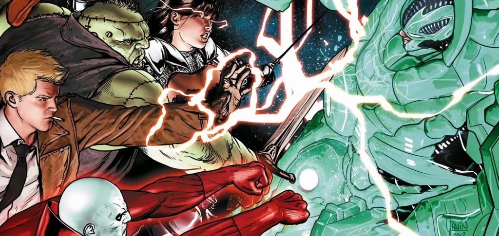 JUSTICE LEAGUE DARK Movie Script Now Completed And In Warner Bros.' Hands