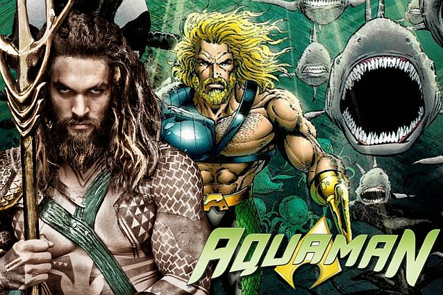 Jason Momoa Talks Aquaman Suit Reveal, Action Sequences, His Role in BATMAN V SUPERMAN and More
