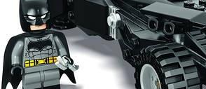 LEGO Unveils First Look at BATMAN V SUPERMAN: DAWN OF JUSTICE Batmobile Set