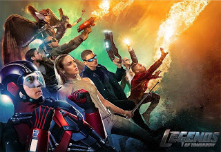 New Character Posters for DC's LEGENDS OF TOMORROW Shows Off Our Heroes