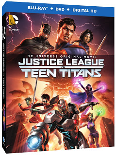 Blu-Ray Cover Art, Bonus Features and Release Date for JUSTICE LEAGUE: THRONE OF ATLANTIS Announced