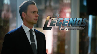 LEGENDS OF TOMORROW Casts Patrick J. Adams as Surprise DC Character