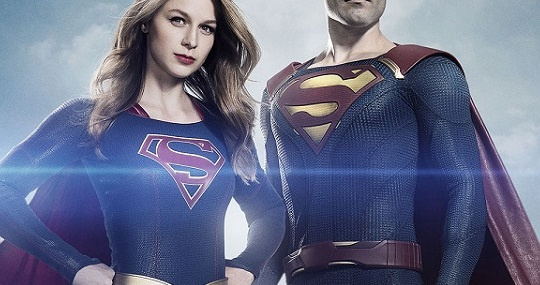 First Official Look at Superman in New SUPERGIRL Promo Image
