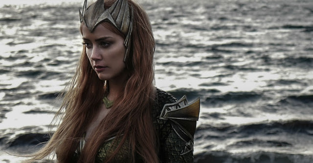 First Official Look at Amber Heard's Mera in JUSTICE LEAGUE