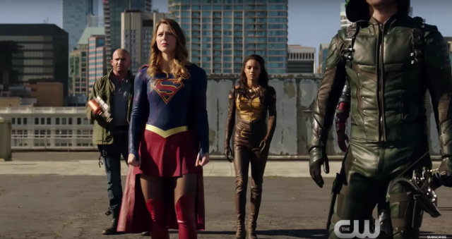 Marc Guggenheim Discusses ARROW's 100th Episode and Supergirl's Role in the Big Crossover Event