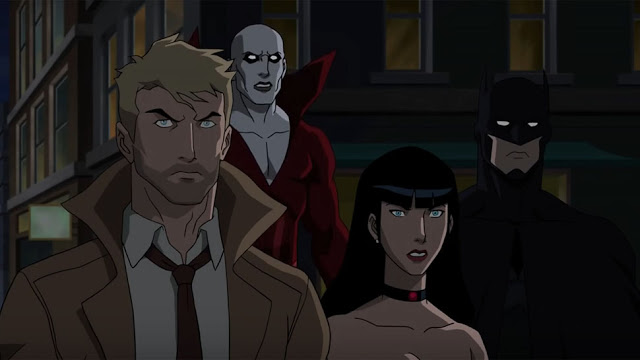 Check Out the JUSTICE LEAGUE DARK Trailer; Film is Rated R