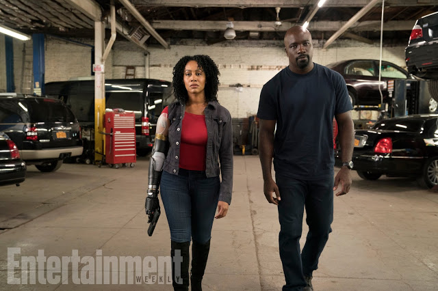 First Look: Misty Knight Gets Her Bionic Arm for LUKE CAGE Season 2