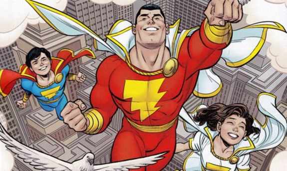 SHAZAM! Movie Officially Begins Production