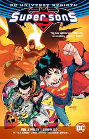 Review: SUPER SONS Vol. 1: When I Grow Up…