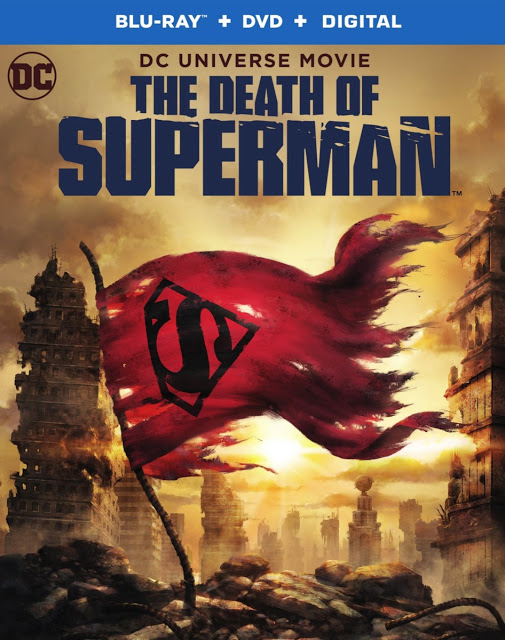 THE DEATH OF SUPERMAN Release Date and Bonus Features Announced