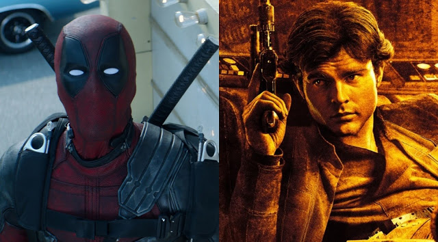 Box Office Updates for DEADPOOL 2 and SOLO: A STAR WARS STORY