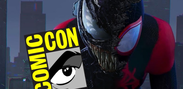 Sony Bringing VENOM and SPIDER-MAN: INTO THE SPIDER-VERSE to San Diego Comic-Con 2018