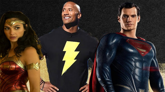 Dwayne Johnson Offers BLACK ADAM Production Update, Teases DC Universe Cameos