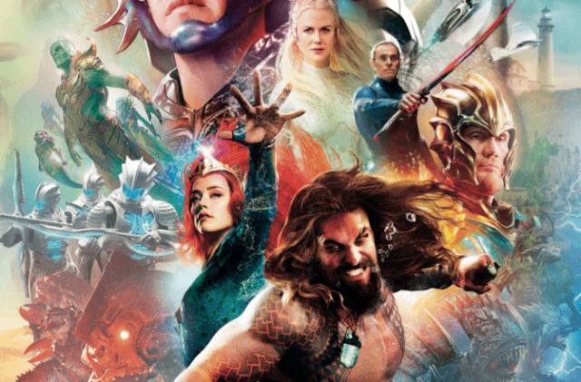 AQUAMAN Will Reportedly Have a Post-Credits Scene