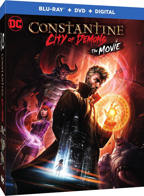 CONSTANTINE: CITY OF DEMONS Movie Coming to Blu-Ray This Fall