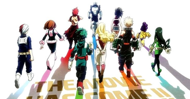 MY HERO ACADEMIA: TWO HEROES Gets a US Release Date