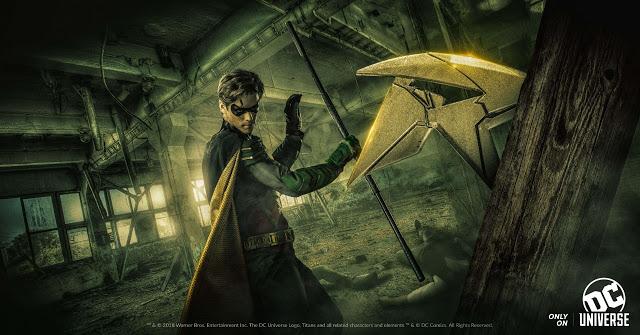 DC Universe Set to Launch on Batman Day, TITANS Premiere Announced
