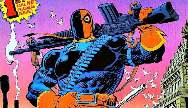 Deathstroke Will Appear on TITANS…Eventually