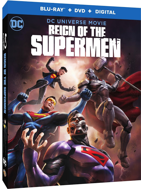 REIGN OF THE SUPERMEN Release Date, Voice Cast and Bonus Features Confirmed
