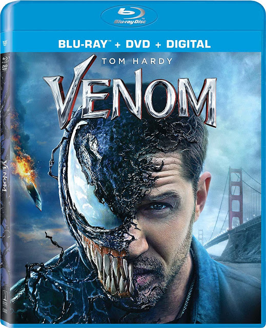 VENOM Blu-Ray Details Announced
