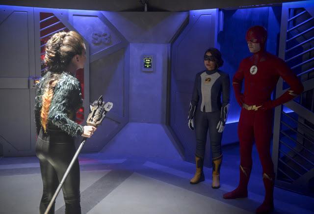 "FLASH SPOILER Review: Episode 5×07- ""O Come, All Ye Thankful"""