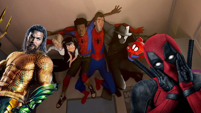 Box Office Updates: Aquaman and Deadpool Go Into the Spider-Verse