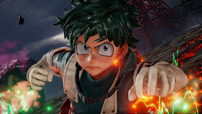 JUMP FORCE Gets a New Trailer: Izuku Midoriya Joins the Roster