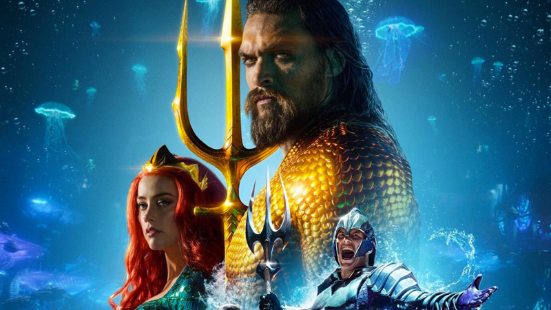 AQUAMAN Surfs Past $800 Million; $1 Billion Worldwide Imminent