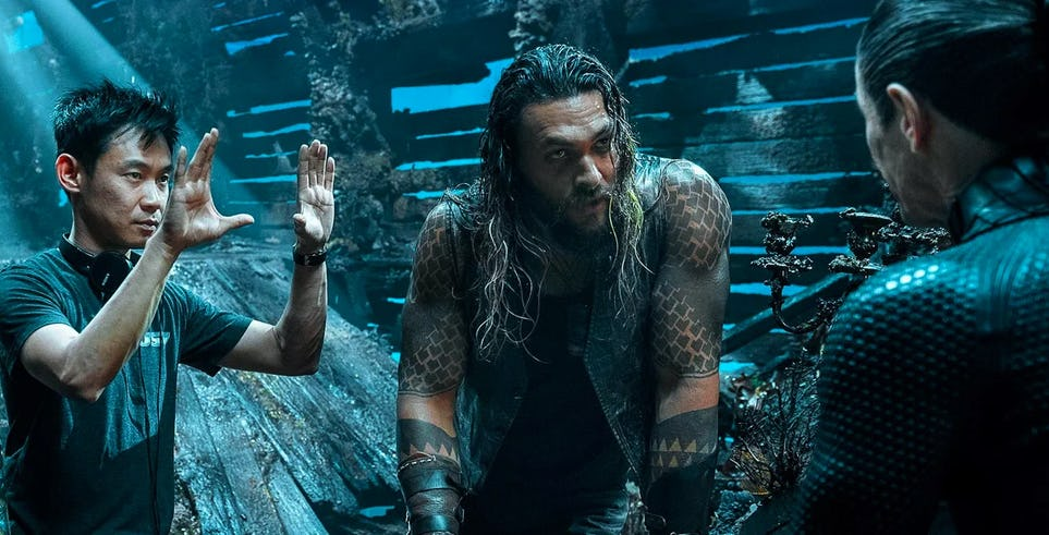 AQUAMAN is a Pulp Fiction Comic Book Movie