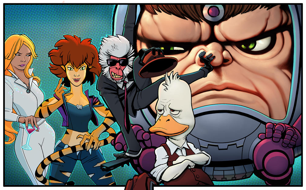 Marvel and Hulu Team Up for Slate of Animated Shows Starring Howard the Duck, M.O.D.O.K. and More